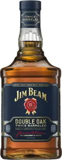 Jim Beam Bourbon Double Oak 750ml
